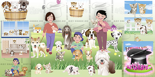 Домашние животные (eps)