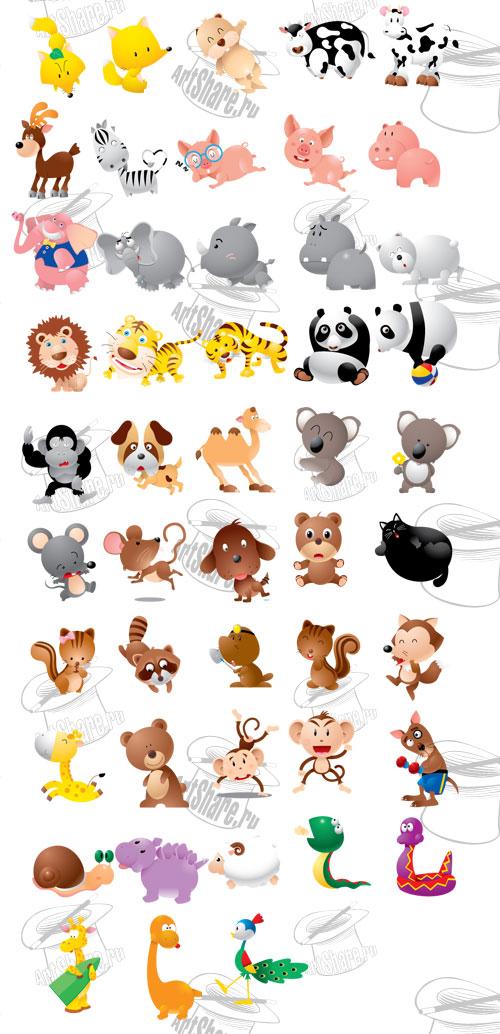 картинки аниме зверюшки: