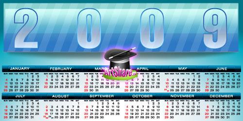 шаблоны календарейв корел на 2016 год