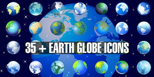 Векторная планета Земля